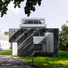 Four Boxes Gallery   Krabbesholm Højskole College in Skive, Denmark   Atelier Bow-Wow