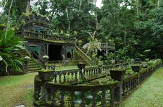 Paronella park, was abandoned but has now been turned into a park (SOURCE)
