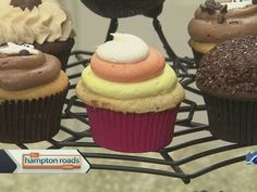 Carla Hesseltine from Just Cupcakes stopped by The Hampton Roads Show to make Pumpkin Cupcakes.