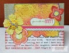 Learn new techniques and ways to use Clearsnap Inks! Check out Tami Sanders card sketch #21 & the fun card made out of the sketch.| Clearsnap blog