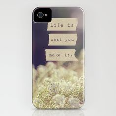 Life Is iPhone Case by Christine Hall - $35.00