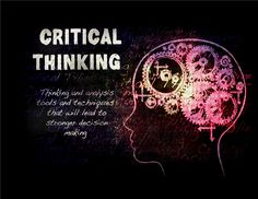How To Use Critically Thinking To Solve Problems http://topquestionsandanswers.com/home/2016/4/29/steps-to-take-when-problem-solving