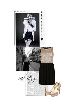 """sad story"" by anita2 ❤ liked on Polyvore"
