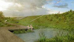 Architectura - Winnend Scheldelei-project van Architecten Achtergael voor Agentschap Natuur en Bos