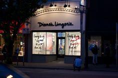 Diane's Lingerie gets a fresh new look! #artofawoman