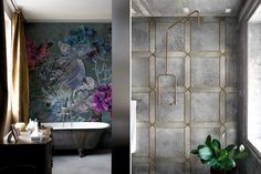 Splendidi motivi Wall&decò al Cersaie 2015 che si è concluso pochi giorni fa #decor #interiordesign #bathroom