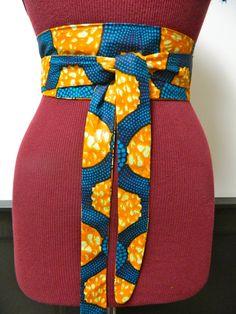 Bella Duafe Obi Belt by BellaDuafe on Etsy, $18.00