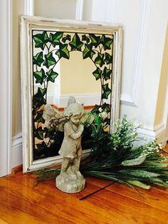 Ivy. Eclectic Mirrors, Ivy, Oversized Mirror, Interior Design, Furniture, Home Decor, Nest Design, Decoration Home, Home Interior Design
