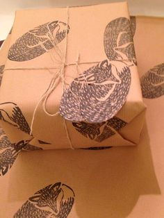 (So you really do get a bargain :)). Beautiful hand printed wrapping paper from my lino print collection. Rustic feel, unique and original. Make your present extra special :) for that special someone! | eBay!