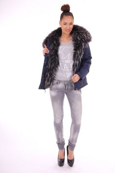 Nickelson winterjacket GIANT army jassen Dames