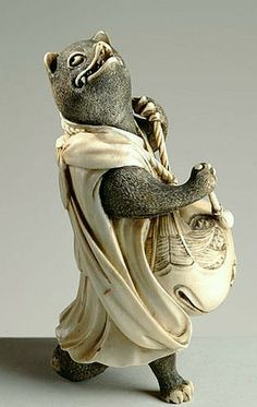 Netsuke, Edo priod (1603-1868), Japan
