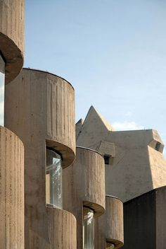 One of the most revered religious buildings of the Brutalist period is Gottfried Böhm's Church of the Pilgrimage in Neviges