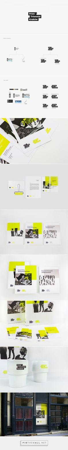 Print Triennial Kraków - Visual Identity on Behance - created via https://pinthemall.net