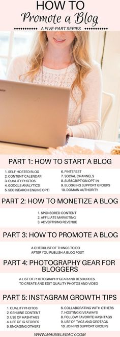 This guide for how to promote a blog post is a five-part series for beginning bloggers. A free printable checklist with the steps to take before publishing a blog post, and after a blog post to help your content be seen and increase traffic to your blog.