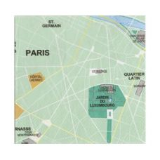 Mapkins, Paris $8.95 - These cool napkins are almost too good to use!