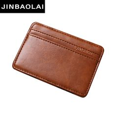 2016 fashion Vintage Style High quality PU leather magic wallet men's mini multifunctional card holder brand magic wallets *** Details on product can be viewed by clicking the VISIT button