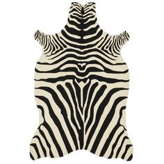 Dare to go where the wild things are when you add this fun zebra rug to your space. Designed for use both indoors and out, this rug features a bold striped zebra print to coordinate with safari and ju