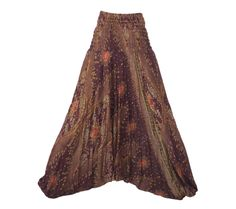 Women's Colorful Thai Harem Pants by AsianCraftShop on Etsy