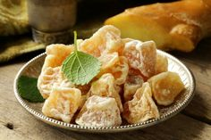 Ginger Candy Recipe - LearningHerbs. Plus uses of ginger for health.