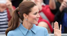 Kate Middleton's Ponytail - How To Get Kate Middleton's Hair - Good Housekeeping