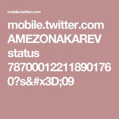 mobile.twitter.com AMEZONAKAREV status 787000122118901760?s=09
