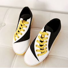 New Womens Korean Mixed Colors Canvas Fashion Comfort Hiking Sneakers Girl Shoes #NEW #Canvas