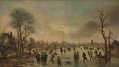 Aert van der Neer - Winterlandschap (2)