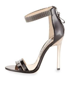 Chain Ankle-Strap Sandal