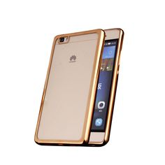 Find More Phone Bags & Cases Information about For Fundas Huawei P8 Case Cover Luxury Silicon TPU Pink Rose Gold Silver kryty For Funda Huawei P8 Funda 5.2 inch Transparentes,High Quality gold act,China gold barrette Suppliers, Cheap gold bank from Geek on Aliexpress.com