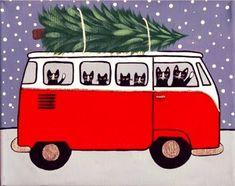 VW Cats take home their Christmas tree