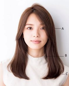 Catalog for medium length hair Black hair bangs with / without bangs for adults over 40 years etc. Haircuts For Medium Length Hair, Haircuts Straight Hair, Bangs With Medium Hair, Mid Length Hair, Medium Hair Cuts, Long Hair Cuts, Hairstyles With Bangs, Medium Hair Styles, Short Hair Styles