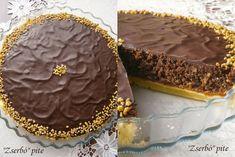 """Zserbó"" pite 🍴 Cake Recipes, Food And Drink, Birthday Cake, Desserts, Vaj, Easter, Cakes, Kuchen, Tailgate Desserts"