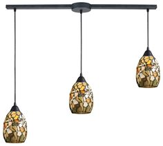 Trego 3 Light Kitchen Island Pendant