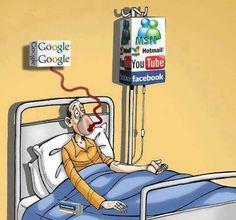 Social Media, #SocialMediaGeek Beetje te veel online!