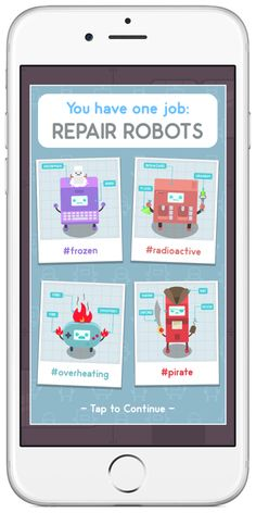 It is a strategy centered puzzle game for kids. The child will enter the lab as a trainee and begin putting their solving strategies to the test by dragging the numbers to re-wire the broken bots correctly. This game kept my whole family intrigued for hours. #littlebrokenrobots #touchautism #stemapp #appreview