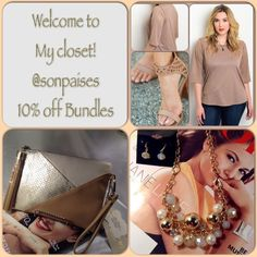Welcome to my closet! 10% Off Bundles Welcome, come on in. Sharing some actual boutique pics with you. I appreciate every lovely comment I receive & all of my customers & shares. I love styling, so I do use lots of shoe pics, however if they are not listed they aren't available. I am an affordable and nice quality closet and block offers that are non negotiable . I'm a hardworking woman who wants to sell fashion & loves it!  Thank you for respecting my closet and for stopping by! Ana Other