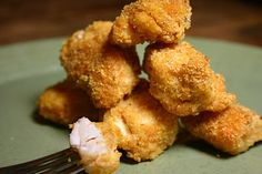 Country Tart Recipes: Cleaned Up Catfish Nuggets, baked not fried