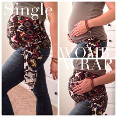 Single Maternity Womb Wrap Pregnancy Belly Support by AbbyJaneKids, $28.50