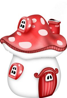 Cutest little mushroom house