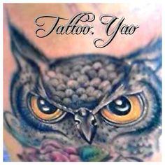 Buho tattoo yao