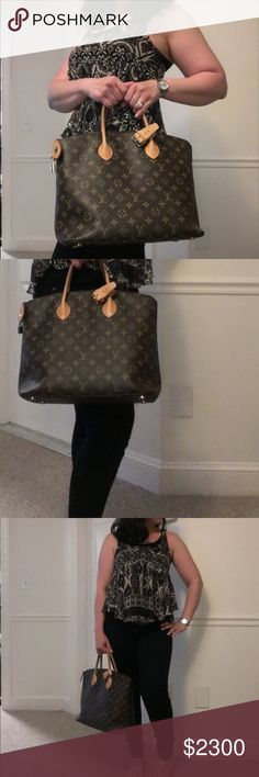 Authentic Louis Vuitton Monogram Lockit MM-2015 There are more photos and details in my closet . See original listing . Louis Vuitton Bags