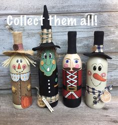 Witch wine bottle Painted wine bottle witch decor halloween decor fall decor unique gifts gifts for her hand painted one of a kind Witch wine bottle Painted wine bottle witch decor halloween Source by auntvivie Glass Bottle Crafts, Wine Bottle Art, Painted Wine Bottles, Vodka Bottle, Beer Bottle, Decorated Bottles, Halloween Crafts, Christmas Crafts, Halloween Halloween