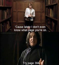 This one is too hilarious #Snape (prisoner of Azkaban) and #Taylor Swift (story of us)