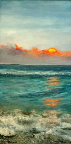 """wasbella102:  """" Turquoise Ocean by Joseph Ebberwein  """""""