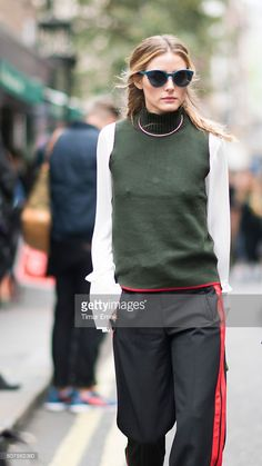 Fotografia de notícias : Olivia Palermo during London Fashion Week...