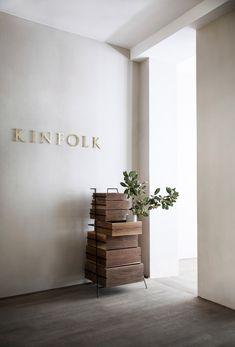 Norm Architects creates workspace for Kinfolk magazine in Copenhagen - Kinfolk offices by Norm - Showroom Design, Bureau Design, Workspace Design, Scandinavian Interior, Scandinavian Style, Casa Milano, Hostels, Kinfolk Magazine, Sendai