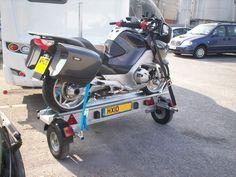 Side loading Motorcycle trailer