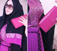 MISS HIJABI: An Afternoon with Tea Abaya Hijab Style Blogger YSL Abu Dhabi, Fashion Stylist, Ysl, Salwar Kameez, Hijab Fashion, Dubai, Stylists, How To Wear, Style