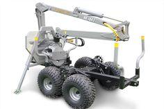 Nokka 106HD ATV Forestry Trailer