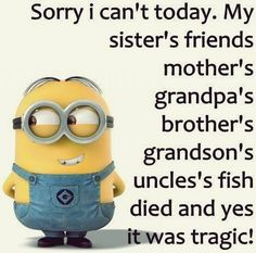 LOL Funniest Minions Quotes (09:37:01 PM, Monday 14, September 2015 PDT) – 10 pics